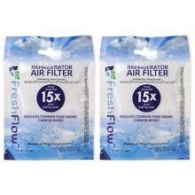 Whirlpool Fresh Flow W10311524 AIR 1 Refrigerator Air Filter pack of 2