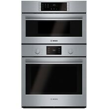 Bosch 500 Series  HBL5751UC 30 Inch Speed Combination Wall Oven