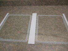 GE REFRIGERATOR GLASS SHELF PART   WR32X1470