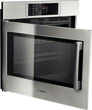 Bosch Benchmark Series 30   4 6 cu  ft SS Single Electric Wall Oven HBLP451LUC