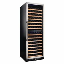 Smith   Hanks 166 Bottle Dual Zone Wine Refrigerator