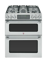Brand New  30 Inch Slide In Caf  Series Double Oven Gas Range