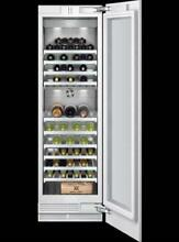 Gaggenau 24  Fully Integrated Dual Zone 99 Bottle Capacity Wine Storage RW464761