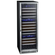 EdgeStar CWR1431TZ Built In 24 Inch Wide 143 Bottle Capacity Wine Cooler with In
