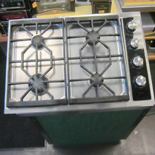 WOLF CT30G S Gas 4 Burner Cooktop w Cast Iron Grates Working Pull PICKUP ONLY