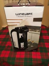 EuroCave Wine Art Fridge   Storage System Dual Zone Wine Preserver  Retail  399