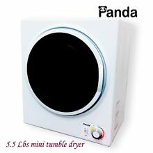 Small Compact Clothes Dryer 110 V Stainless Steel Drum 1 5 cu ft