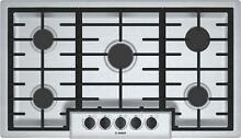 Bosch NGM5656UC 500 Series 36 Inch Wide Built In Gas Cooktop with 5 Sealed Burne