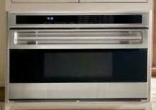 Wolf L Series 36 Inch Single Dual Convection SS Electric Wall Oven SO36US