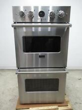 Viking Professional Ultra Premium Premiere 27  Double Elect Wall Oven VEDO527SS