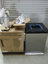 EDGESTAR BR3002SS 24  WIDE KEGERATOR CONVERSION REFRIGERATOR FOR FULL SIZE KEG
