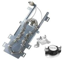 8544771 Dryer Heating Element with 279973 Thermal Cut Off Fuse   Thermostat