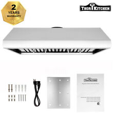 Thor Kitchen 36  Under Cabinet Range Hood Anti fingerprint Vent Fan HRH3606U