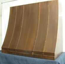 French Country Handcrafted Copper Range Hood Custom Made to order in USA 8 weeks
