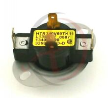 For Frigidaire Dryer Cycle   Operating Thermostat PP 134048800