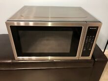 Kitchenaid 2 2 cu ft  Stainless Steel Countertop Microwave KMCS3022GSS Works Gd