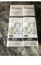 Sealed Whirlpool Ice Maker Water Filter   F2WC9I1 ICE2   2Pack