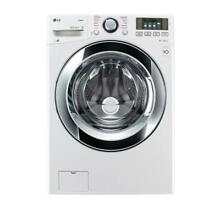 4 5 cu  ft  High Efficiency Front Load Washer with Steam in White  ENERGY STAR