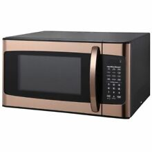 Microwave Oven Kitchen Powerful Cook Food Beverage Popcorn Pizza Copper Gold RV