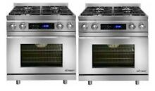 NIB Dacor Distinctive 60  Stainless Convection Pro Style Duel Fuel Range DR30DNG