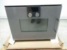 Gaggenau 200 series programs temperature display speed microwave oven BMP251710