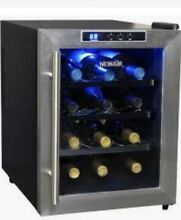 Newair AW 121E 12 Bottle Thermoelectric Wine Refrigerator  Stainless Steel and