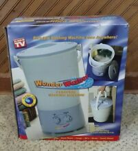 As Seen On TV Wonder Washer A Portable Mini Clothes Washing Machine In Box