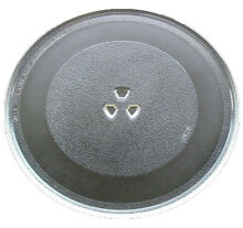 Amana Microwave Glass Turntable  Plate   Tray 12 3 4 Inches   R9800455