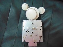 Maytag Whirlpool Washer Timer with knobs 22002201 22003362 6 2096830 22001664 90