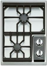 Wolf 15  2 True Simmers Dual Stacked Spark Ignition Burners Gas Cooktop CT15GS