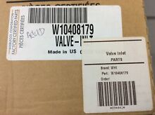 Whirlpool Refrigerator Water Inlet Valve Part W10408179 New In Box