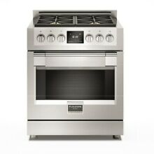 Fulgor Milano F6PDF304 30 Inch Wide 4 1 Cu Ft  Dual Fuel Range with 4 Dual Fuel