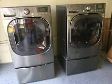 LG Washer Washing Machine WM3875H   Electric Dryer DLE3875V