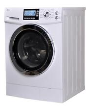 GE 2 cu ft Washing Machine with Dryer  color white  22x24  used by one owner