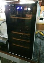 HVTS18DTBB Haier 1 7 Cubic Foot Wine   Beverage Cooler NEW