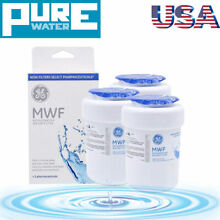 3 PACK GE MWF MWFP 46 9991 GWF HWF WF28 SmartWater Fridge Water Filter USA