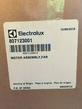 NEW OEM Oven Cooling Fan Motor Assembly Frigidaire Kenmore Electrolux 807123001