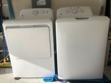 GE  Washer GTW220 and Dryer GTX22GAS Combo Set