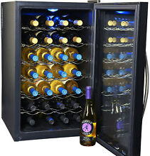 NewAir 28 Bottle Thermoelectric Wine Cooler With Digital Temperature Control