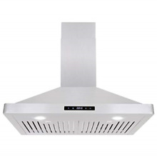 Cosmo 63175S 30 in Wall Mount Range Hood 760 CFM with Ducted   Ductless Duct  3