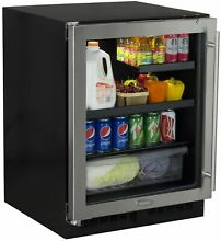 Marvel MA24BR3L Stainless Steel 24  Wide 7 Bottle and 95 Can Built In Energy