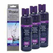 3PACK Whirlpool W10295370 EDR1RXD1 W10295370A Refrigerator Water Filter 1 OEM
