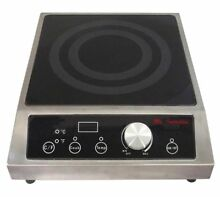 Sunpentown Mr Induction SR 341C 3400W Commercial Countertop Burners in Black New