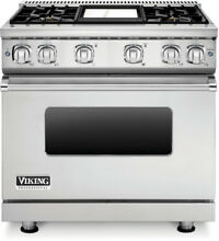 Brand New  Viking Professional 7 Series VGR73614GSS 36  Gas Range