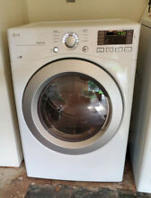 LG 7 4cf Gas Dryer  model DLG3171W    Used  only 1 year old