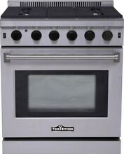 Thor Kitchen LRG3001U  30  Wide 4 5 Cu  Ft  Capacity Freestanding Gas Range with