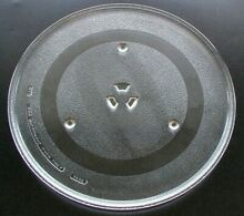 G E  Microwave Glass Turntable Plate   Tray 14 1 8    WB49X10030