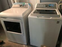 Brand new  Unused  Top Load  Electric GE Washer and Dryer  4 year Warranty