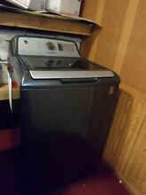 GE Washer and Dryer  matching set with WIFI GTW750CPL1DG