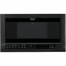Sharp R1210T  24  Wide 1 5 Cu  Ft  Built in Microwave with Digital Display